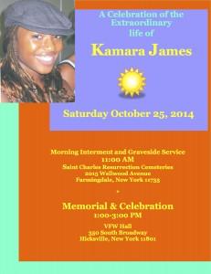 Kamara Celebration Flyer