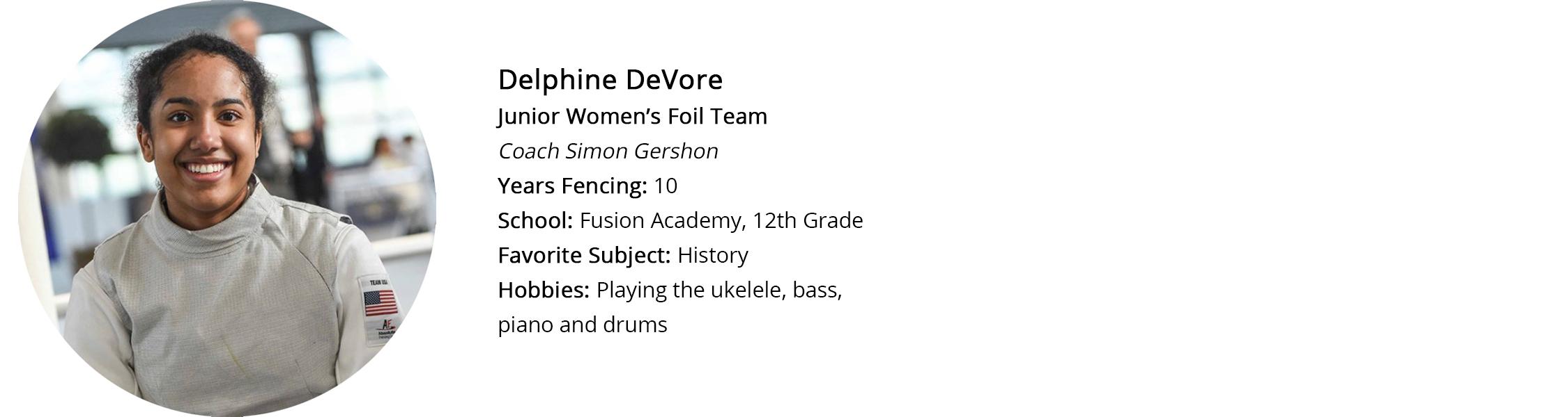 Delphine Profile