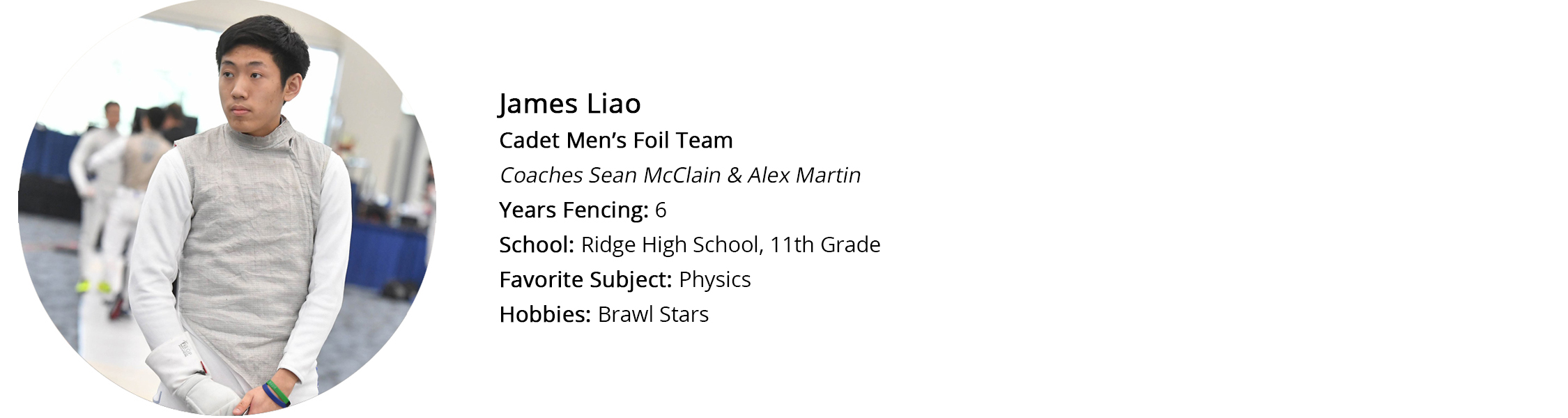 James Liao Profile